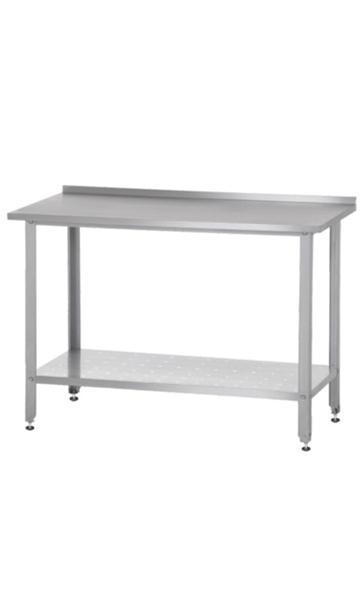 Производственные столы с полкой Norma металлические купить недорого